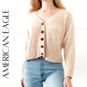 AMERICAN EAGLE Oversized Button Up Cardigan, M